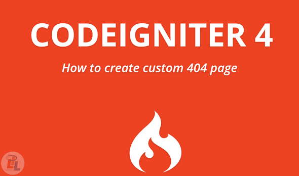 custom 404 page in Codeigniter 4